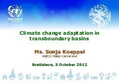 Climate Change Adaptation in Transb...
