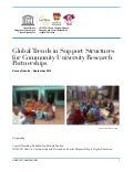 Global Trends in Support Structures for Community University Research Partnerships - Survey Results - September 2014
