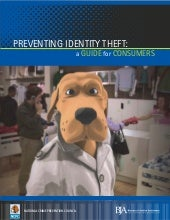 PREVENTING ID THEFT GUIDE FOR CONSU...