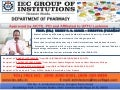 IEC Department of Pharmacy Faculty Profile With Achievement