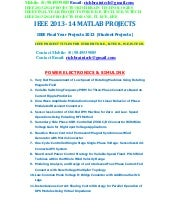 Ieee 2013 2014 matlab power electro...