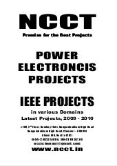 Ieee Power Electronics Ieee Project...
