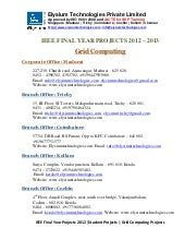 Ieee projects 2012 2013 - Grid Comp...