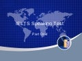 Ielts Speaking Test1