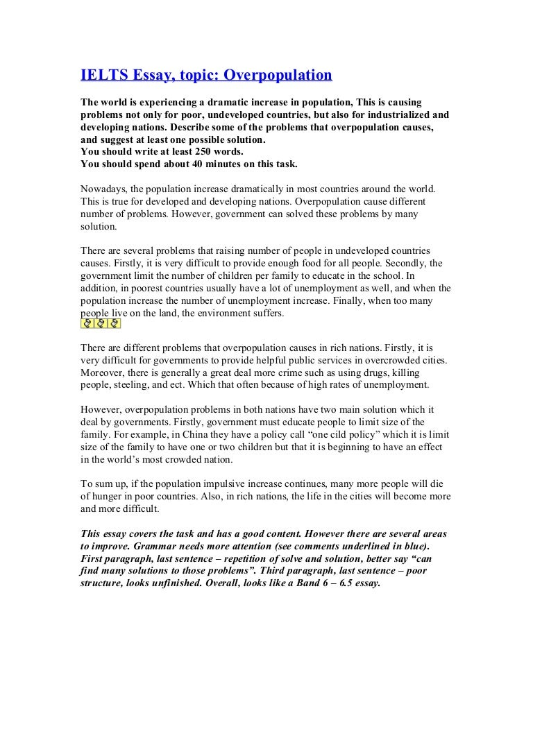 overpopulation essay in kannada