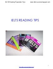 IELTS Reading Preparation Tips