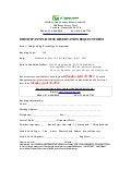 Ien conf hotel booking form