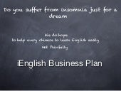 iEnglish business plan