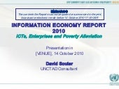 IER report 2010 presented by Prof. ...