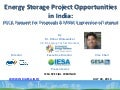 IESA special webinar on energy storage project (MNRE, PGCIL) opportunities in India 30th July 2014