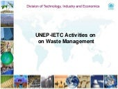 Ietc waste management activities