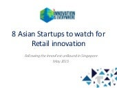 8 Asian startups to watch for retail innovation