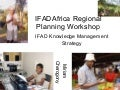 Managing IFAD's Western and Central Africa portfolio