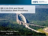 IFC contributions to road concessio...