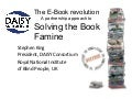The e-Book Revolution: A Partnership Approach to Solving the Book Famine