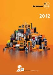 Product Catalogue 2012 / 2013