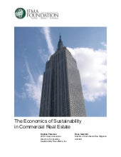 The Economics of Sustainability in ...