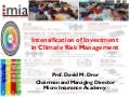 IFPRI - CSISA - Diversification and Financial Risk Management Services and Products - David Dror