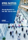 IFRS Notes: Amendments to Ind AS: Carve-outs
