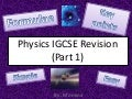 Igcse physics revision