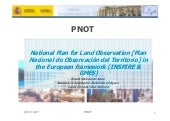 National Plan for Land Observation ...