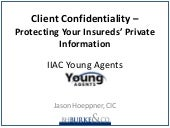 IIAC Young Agents - Protecting Your...