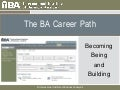 IIIBA Interactive Webinar: The BA Career Path - Becoming, Being and Building