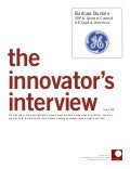 Innovator Interview: Barbara Daniele, General Electric