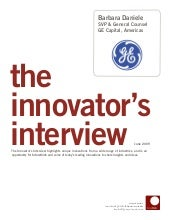 Innovator Interview: Barbara Daniel...