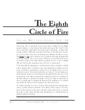 Iii Eighth Circleof Fire Law Review...