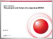 IIJmio meeting 8 The present and future of a Japanese MVNO