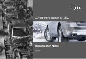 India Automobiles Sector Report Apr...