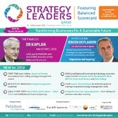 Strategy leaders: Prof. Robert Kapl...