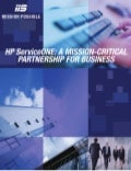 HP ServiceONE: A Mission Critical Partnership for Business