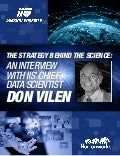 The Strategy Behind the Science: An interview with IIS' Chief Data Scientist Don Vilen