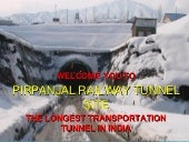 Tunnel T80 across Pir Panjal Mounta...