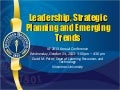 Ilf 2013 leadership, strategic planning and emerging trends (final)