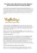 Il franchising vegano della ristorazione si chiama veggy days