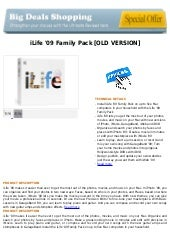 I life '09 family pack [old version]