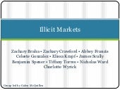 Illicit markets2