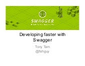 Developing Faster with Swagger