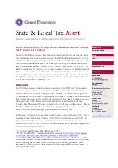 US SALT Alert: IL Amends Click-Through Nexus Statutes to Address Internet Tax Freedom Act Violations