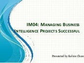 IM04 - BI Project Management