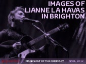 Images of Lianne La Havas live in B...