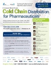 6th Annual Cold Chain Distribution ...