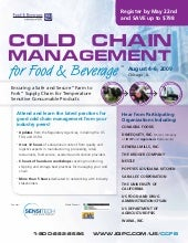 Cold Chain Management for Food & Be...