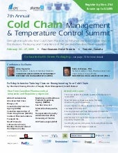 7th Cold Chain Management & Tempera...