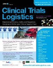Clinical Trials Logistics