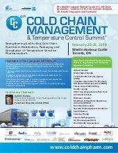 8th Cold Chain Management & Tempera...