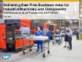 Delivering Real-Time Business Value for Industrial Machinery and Components